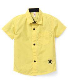 Spark Half Sleeves Shirt - Yellow