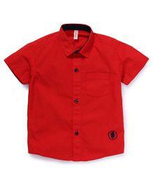 Spark Half Sleeves Shirt - Red
