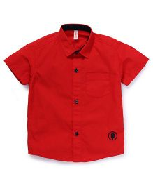Spark Half Sleeves Shirt - Red