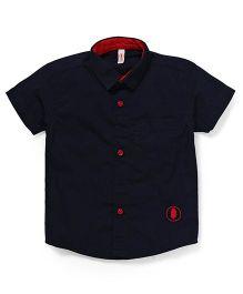 Spark Half Sleeves Shirt - Blue