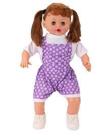 Speedage Aviva Doll White And Purple - 56 cm