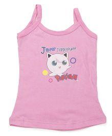 Bodycare Sleeveless Slip Jigglypuff Pokemon Print - Pink