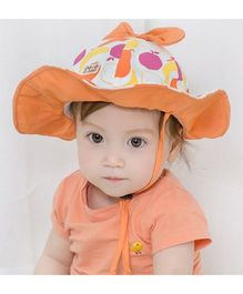 Princess Cart Fisherman Hat - Orange