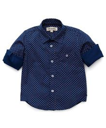 The KidShop Scissor Print Shirt - Blue