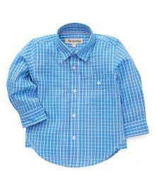 The KidShop Gingham Checkered Shirt - Blue & White