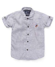 Jash Kids Half Sleeves Shirt - Grey