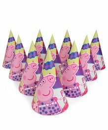 Peppa Pig Paper Caps Pack Of 10 - Multicolor