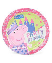 Peppa Pig Paper Plates - Multicolor