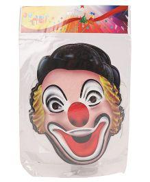 B Vishal Clown Mask Pack Of 10 - Multicolor