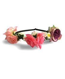 Mauve Collection Flower Hairband - Multicolour