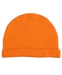 Needybee Unisex Soft Baby Cap - Orange
