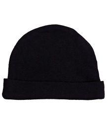 Needybee Unisex Soft Baby Cap - Black