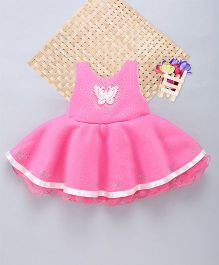 Eiora Beautiful Dust Print Dress - Pink