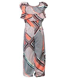 Hugsntugs Graphic All Over Print Jumpsuit - Multicolour