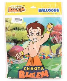 Chhota Bheem Balloons Pack Of 25 - Orange