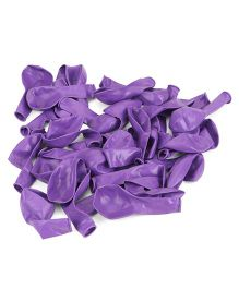 B Vishal Balloons Pack Of 35 - Purple