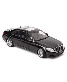 Welly Toy Car Mercedes Benz S Class - Black