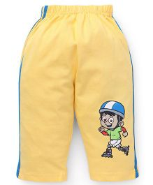 Tango Full Length Track Pants - Yellow