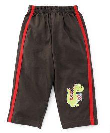 Tango Full Length Track Pants - Brown