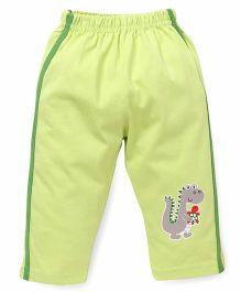 Tango Full Length Track Pants - Light Green