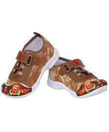 77 Seventy Seven Double Shaded Baby Canvas Shoes - Brown