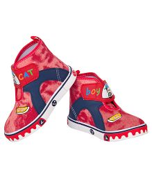 77 Seventy Seven Canvas Shoes Baby Boy - Red