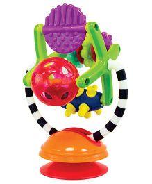 Sassy Teeth & Twirl Sensation Station Rattle - Multicolor