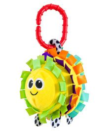 Sassy Ribbon Rascal Clip On Rattle - Multicolor