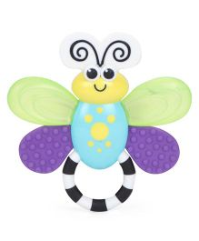 Sassy Flutterby Teether - Yellow & Purple