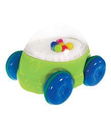 Sassy Pop N Push Car - Green Blue