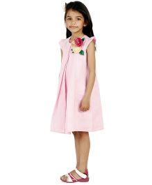 Kidology Macroon Shift Dress - Light Pink