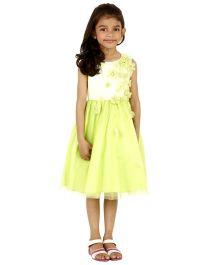 Kidology Mini Oscar Dress - Lime Green