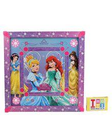 Disney Princess Carrom Board - Blue And Purple