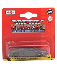 Maisto Kruzerz Die Cast Lamborghini Aventador LP 700-4 Die Cast Car - Grey