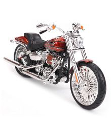 Maisto Harley Davidson CVO Breakout Motorcycle - Red Black