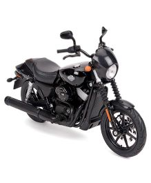 Maisto Harley Davidson Motorcycle Street 750 - Black