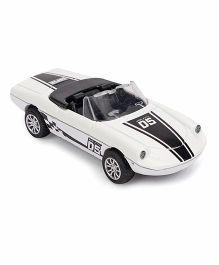 ToyFactory Pull Back Die Cast Metal Model Car - White