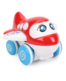 ToyFactory Aeroplane Toy - Red Blue