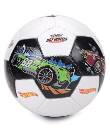 Hot Wheels Printed Football Size 1 - Black & White
