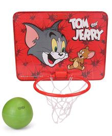 Tom & Jerry Basket Ball Set - Red Green