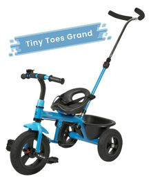 R for Rabbit Tiny Toes Grand The Smart Plug N Play Tricycle - Blue