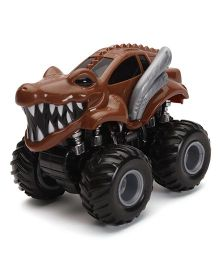 Imagician Playthings Kratos Big Wheel Wizard KIW 009W Toy Car - Brown Black
