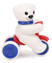 ToyFactory Push And Go Snow Man Toy - White