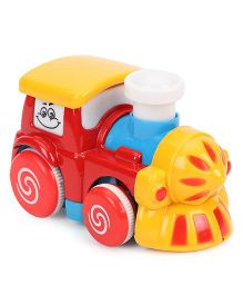 ToyFactory Metal Engine Toy - Red yellow