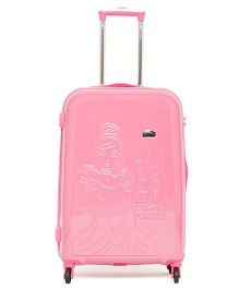Gamme Disney Princess Emboss Kids Luggage Trolley Bag Red - 24 inches