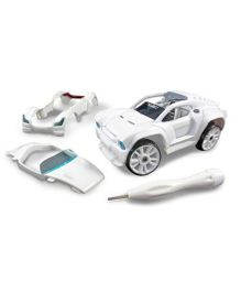 Modarri S2 Paint It Muscle Car Deluxe - White
