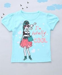 Sequences I Am Totally Cool Tee - Blue