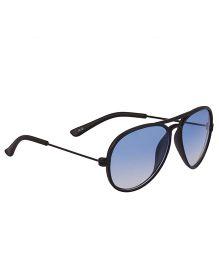 Glucksman Classic Aviator Kids Sunglasses - Blue