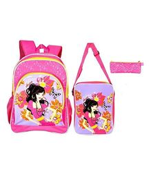 Avon Backpack Combo Pink - 16 Inches