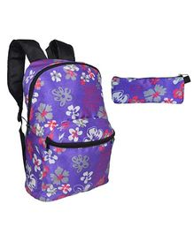 Avon Backpack Combo Purple - 16 Inches